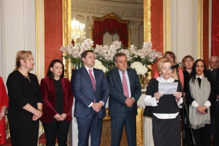 Bandić i Mikulić priredili tradicionalno novogodišnje primanje za novinare
