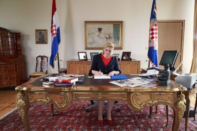 Predsjednica Republike Hrvatske uputila sućut predsjedniku Republike Madagaskara