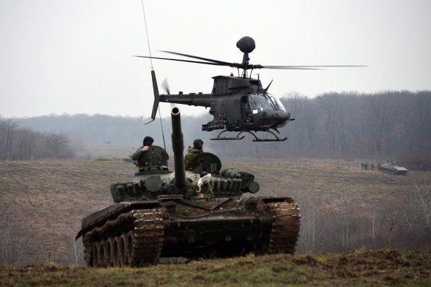 U Gašincima održana vojna vježba zračnih i kopnenih snaga