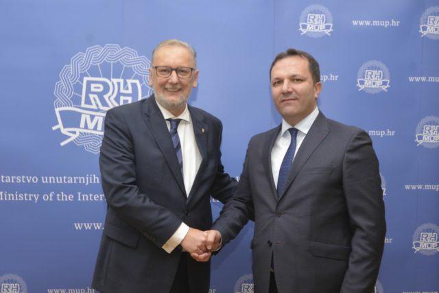 Ministar Davor Božinović: Hrvatsko-makedonska suradnja bez otvorenih pitanja