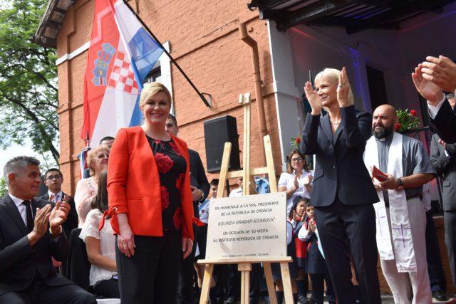 Predsjednica Grabar-Kitarović u San Miguel de Tucumanu posjetila hrvatsku zajednicu
