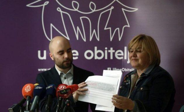 Udruga U ime obitelji: Plenković laže da je ratifikacija Istanbulske nastavak politike HDZ-a