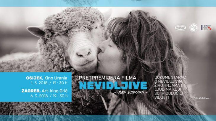 """U osječkom kinu Urania i zagrebačkom art-kinu Grič premijera HRT-ova dokumentarca """"Nevidljive"""""""