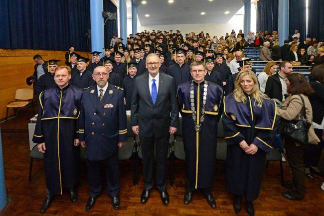 """61. Promocija diplomantica i diplomanata Visoke policijske škole – Ministar Božinović: """"Ulaganje u buduće kadrove, jedna je od prioritetnih zadaća"""""""