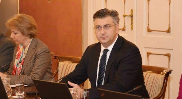 """Plenković: """"Sigurnost i zdravlje naših sugrađana u Slavonskom Brodu su najbitniji"""""""