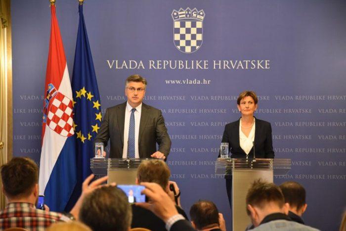 """Potpredsjednica Vlade RH Martina Dalić podnijela ostavku: """" Ne želim biti uteg Vladi i svojoj stranci HDZ-u"""""""