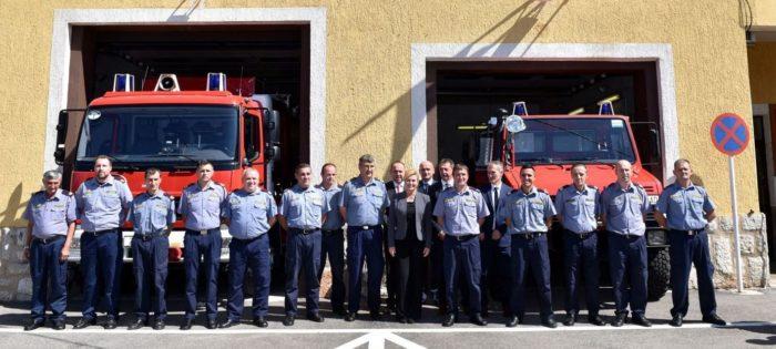 Predsjednica Republike Hrvatske Grabar-Kitarović uputila čestitku vatrogascima u povodu blagdana Svetog Florijana