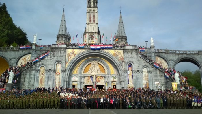 Glavni ravnatelj policije Nikola Milina na hodočašću u Lourdesu