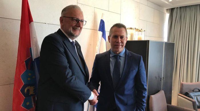 Ministar Božinović dogovorio jačanje suradnje s izraelskim ministrom javne sigurnosti