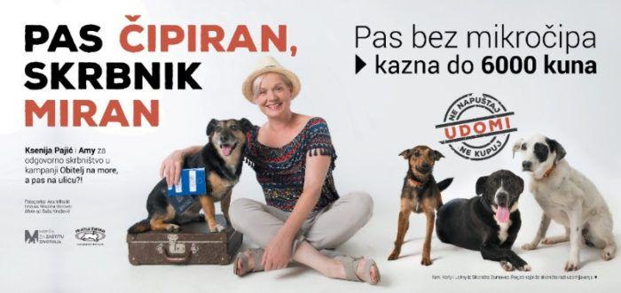 Prijatelji životinja: Za napuštanje životinje kazna 30.000 kuna, a za držanje psa bez mikročipa 6.000