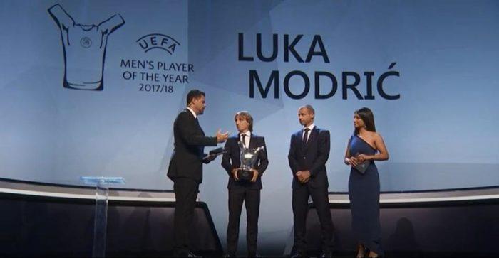 Luka Modrić najbolji igrač Europe