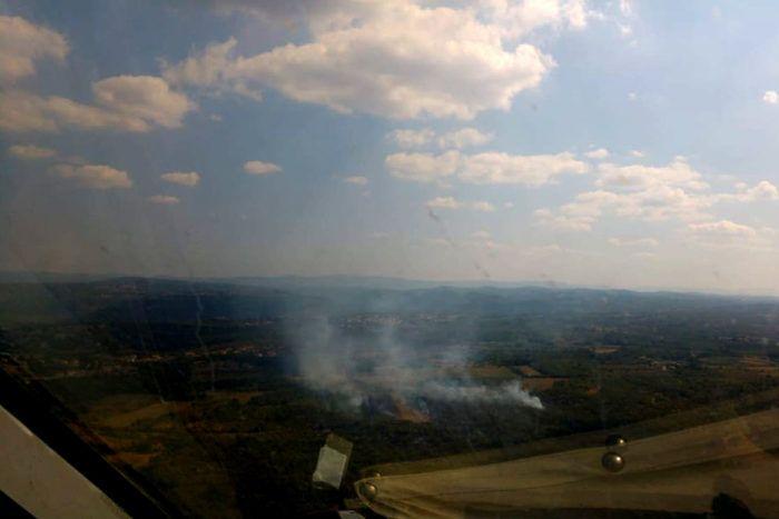 Ugašen požar kod Buja