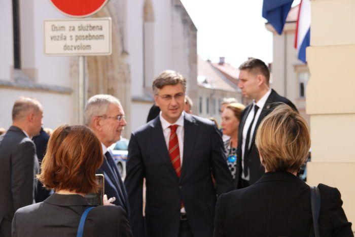 Predsjednik Vlade Andrej Plenković s austrijskim predsjednikom Van der Bellenom o migracijama i zaštiti granica