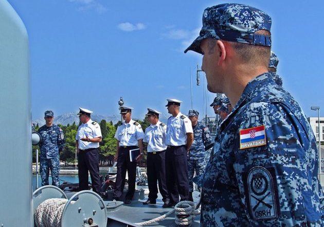 Brod HRM-a spreman za NATO operaciju 'Sea Guardian' u Sredozemlju