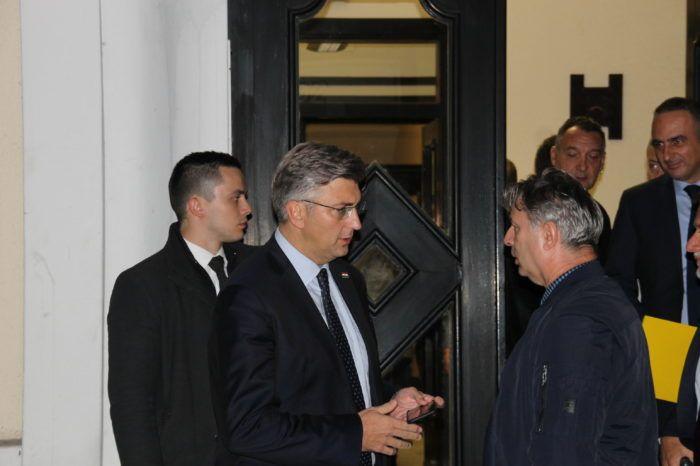 Premijer i šef HDZ-a Plenković: Za gubitak spisa treba netko odgovarati ,slučaj treba rasvijetliti i raščistiti