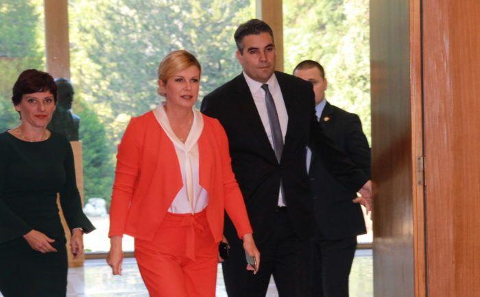 Predsjednica Grabar-Kitarović: Hrvatska javnost se previše bavi aferama, moja je obaveza raditi na poboljšavanju životnih uvjeta