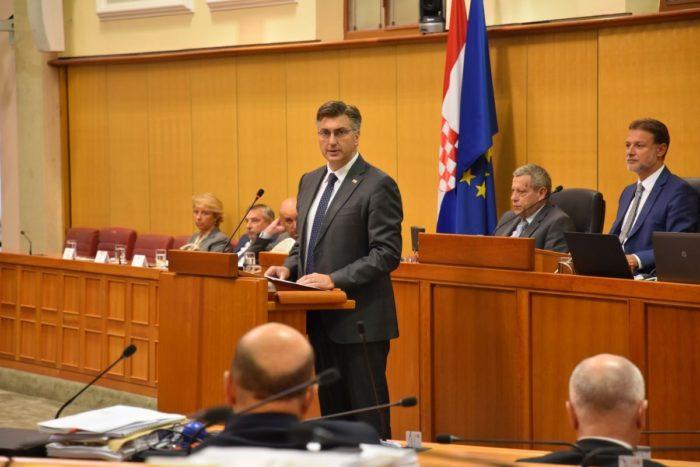Premijer i šef HDZ-a Plenković: Ne možemo u svemu imati podršku oporbe