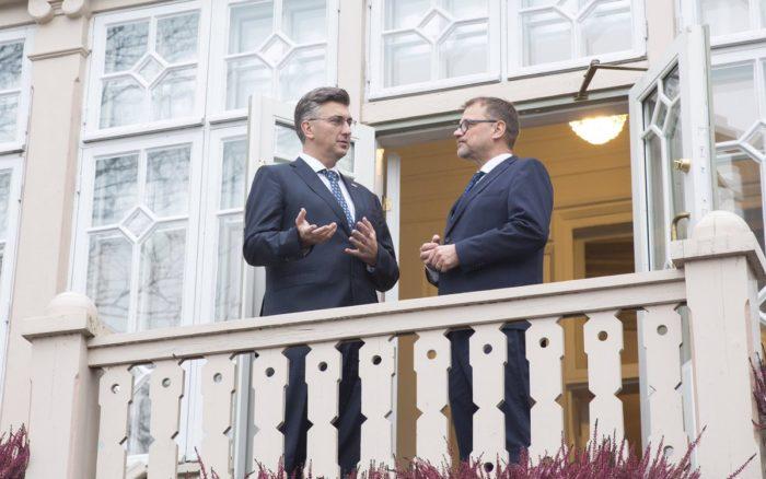 Premijer Andrej Plenković zadovoljan EK-ovim prognozama rasta hrvatskog gospodarstva