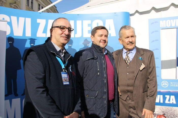 """Na Trgu bana Jelačića održana javnozdravstvena akcija """"Svi za njega"""" protiv raka prostate"""