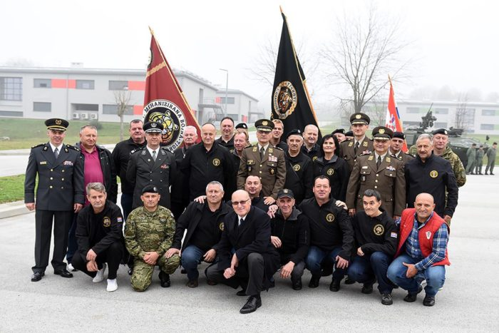 U Petrinji obilježena obljetnica 1. mehanizirane bojne Tigrovi Gardijske mehanizirane brigade Hrvatske kopnene vojske.
