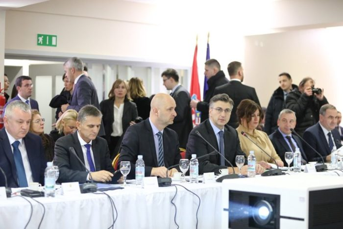 Počela sjednica Savjeta za Slavoniju, Baranju i Srijem
