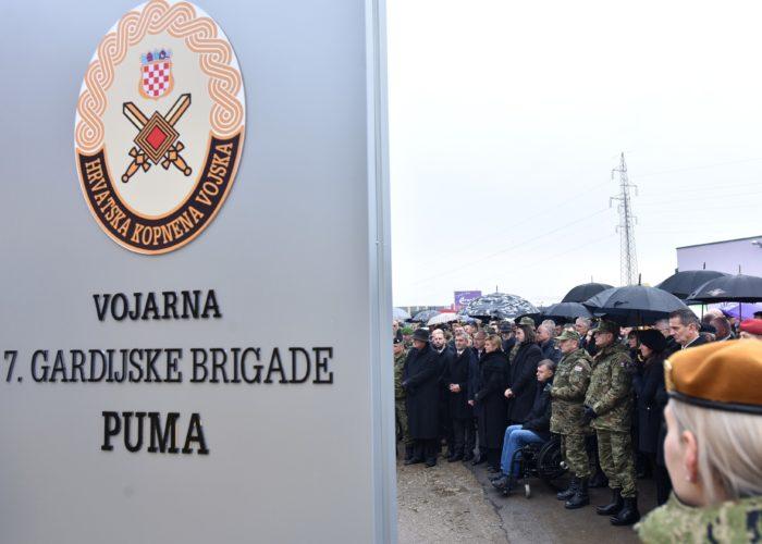 """Predsjednica Republike Kolinda Grabar-Kitarović: Konačno i zauvijek """"Pume"""" se vraćaju u Varaždin"""