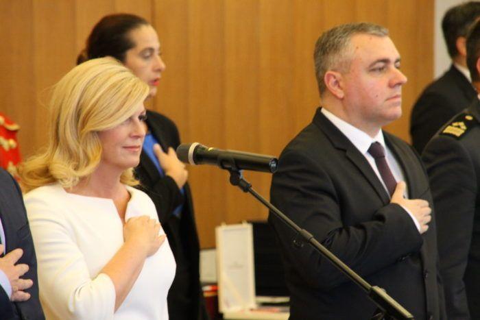 Predsjednica Republike Grabar-Kitarović razriješila Matu Radeljića, imenovala Mirjanu Hrgu