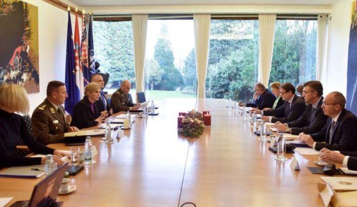 Vijeće za nacionalnu sigurnost: Uspostava suradnje hrvatskih sigurnosnih službi sa stranima