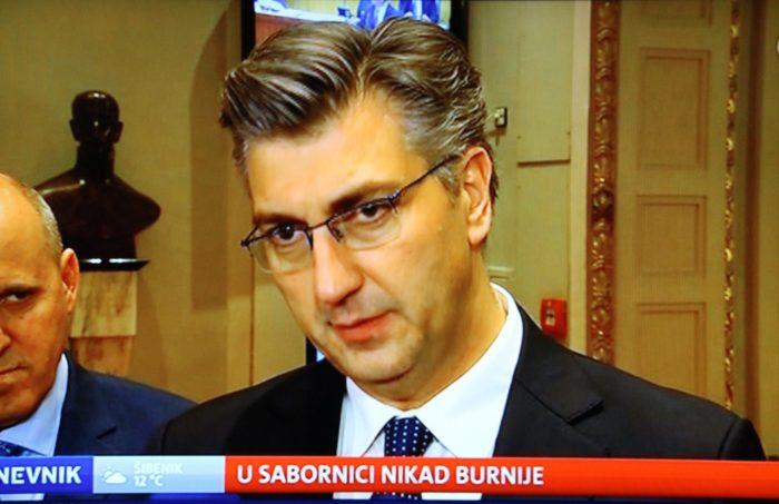 Plenković: Grmojine tvrdnje o 'veleizdaji' nedopustive i najteže klevetničke uvrede