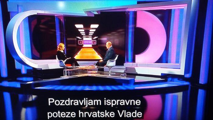 """Kohorst u emisiji HRT-a """"U svom filmu"""": """"SAD čeka da hrvatska Vlada donese odluku, i spreman je poduprijeti Hrvatsku u idućim potezima vezano za borbene zrakoplove"""""""