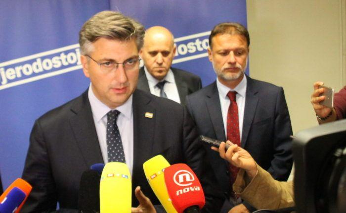 """Plenković: HDZ će u ožujku objaviti liste kandidata za Europski parlament, """"Uvjeren sam da ćemo na njima pobijediti"""""""