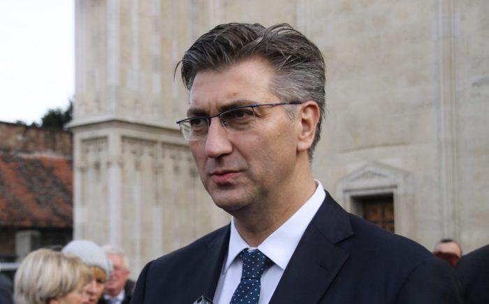 Plenković osudio napad na vaterpoliste Crvene Zvezde