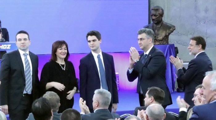 Možda je Ressler nositelj liste, ali Franjo Tuđman vodi HDZ na europske izbore