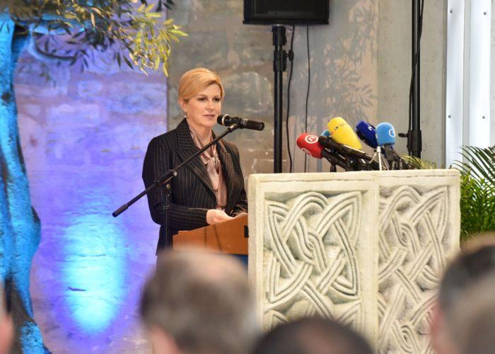 Predsjednica Grabar-Kitarović: Zadarska županija i Zadar od strateškog značenja za Hrvatsku