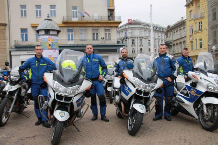 """PROMETNA EDUKACIJA: """"Odgovorno i sigurno ponašanje motociklista u prometu"""""""