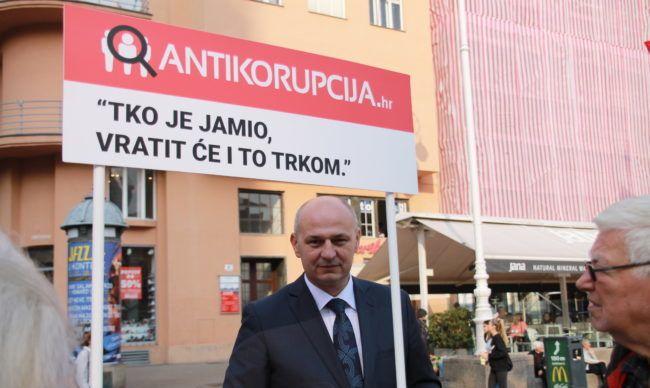 Kolakušić: Hrvatska izrazito neučinkovita u borbi protiv korupcije