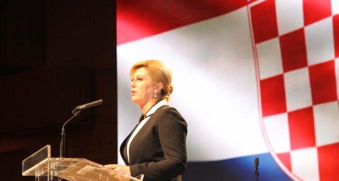 """Predsjednica Grabar-Kitarović: Zastupnici u Europskom parlamentu trebaju braniti """"hrvatske interese"""""""