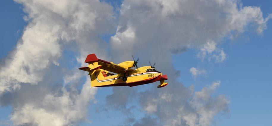 RescEU: uspostavljena prva flota zrakoplova za gašenje požara, među njima dva hrvatska