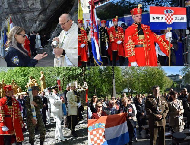 Hrvatska vojska i policija na 61. međunarodnom hodočašću u Lourdesu