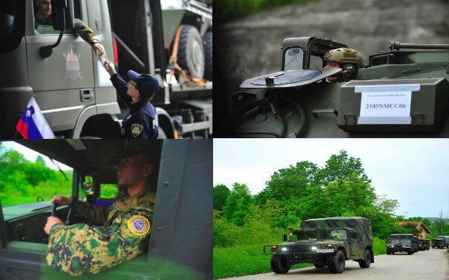Snage Crne Gore, BiH, Sjeverne Makedonije i Slovenije na vojnoj vježbi 'Immediate Response 19'
