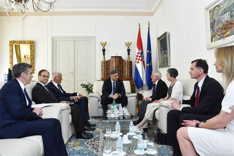 Plenković s dobitnikom Nobelove nagrade Modrichem o poboljšanju kvalitete zdravstvenih usluga