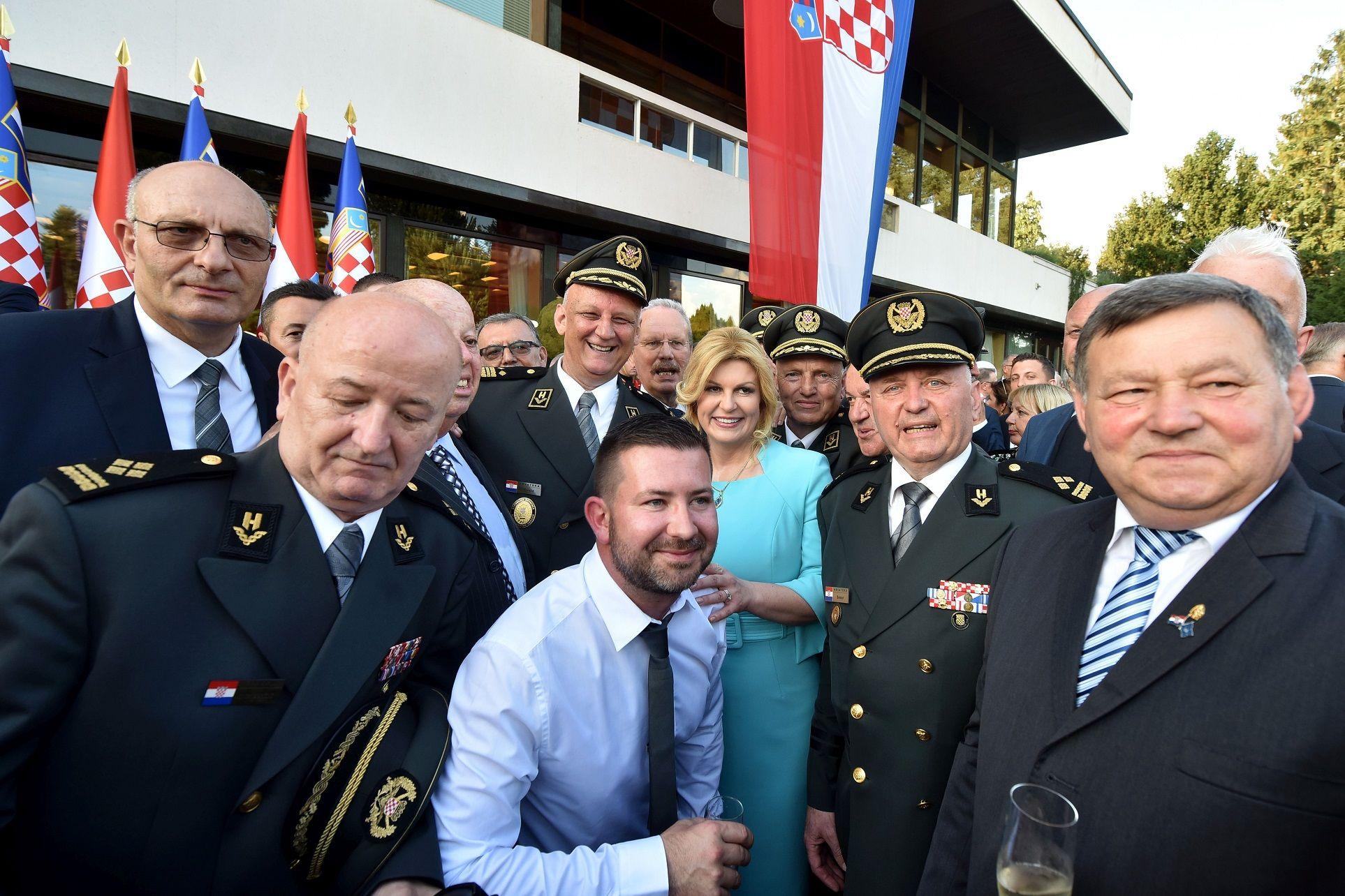 Prijam predsjednice Grabar-Kitarović u povodu Dana državnosti: Za još bolju Hrvatsku!