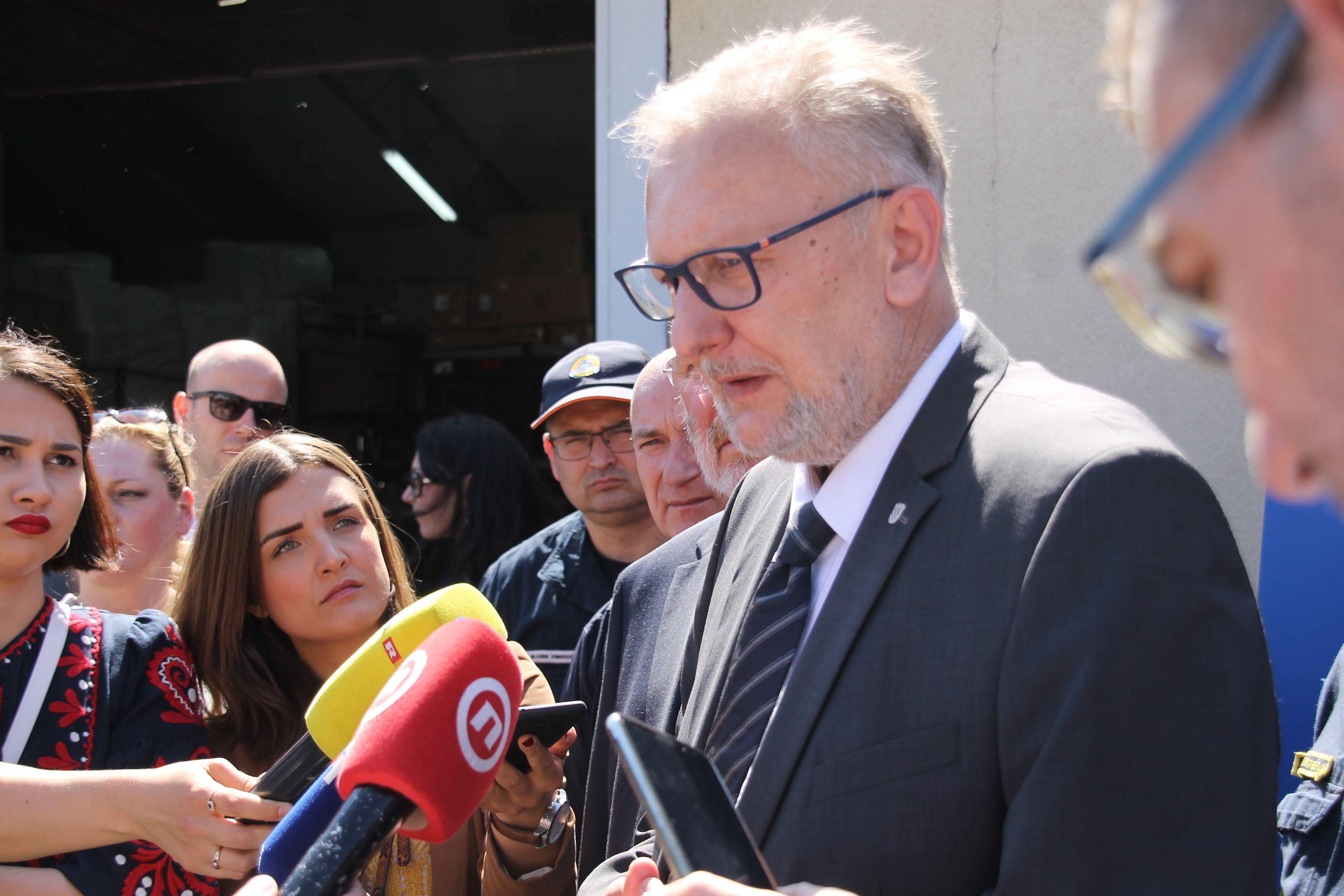 Božinović: Policija će očevidom rasvijetliti okolnosti pogibije djevojaka na odmorištu autoceste