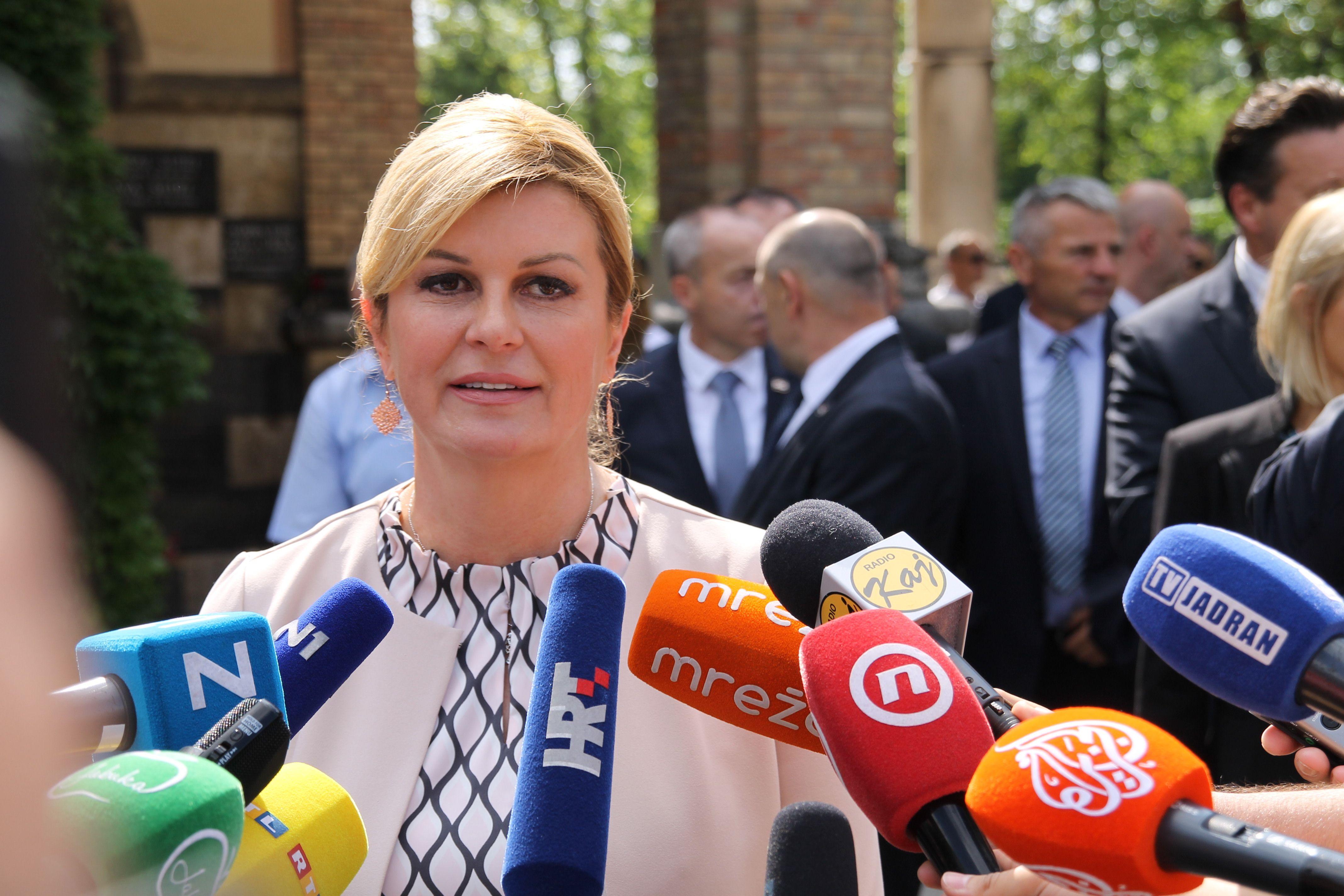 Predsjednicu Grabar-Kitarović nije strah Škorine kandidature