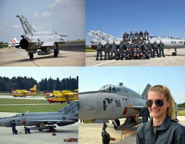 """U multinacionalnoj vojnoj vježbi """"Astral knight"""" u sjevernom Jadranu i dva hrvatska MiG-a"""