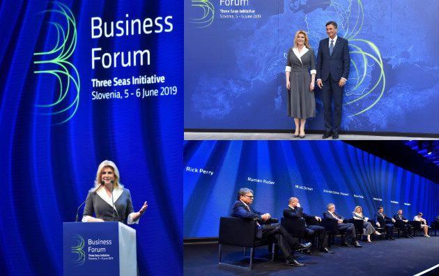 Raspravom o energetici u Ljubljani počeo poslovni forum uz summit država Inicijative triju mora