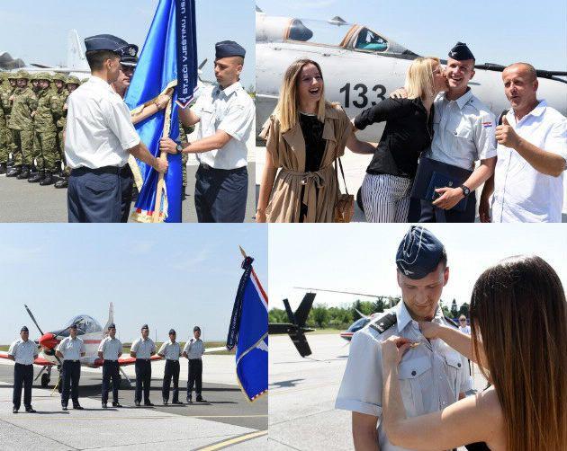 U vojarni na Plesu uručeni letački znakovi vojnim pilotima 23. naraštaja