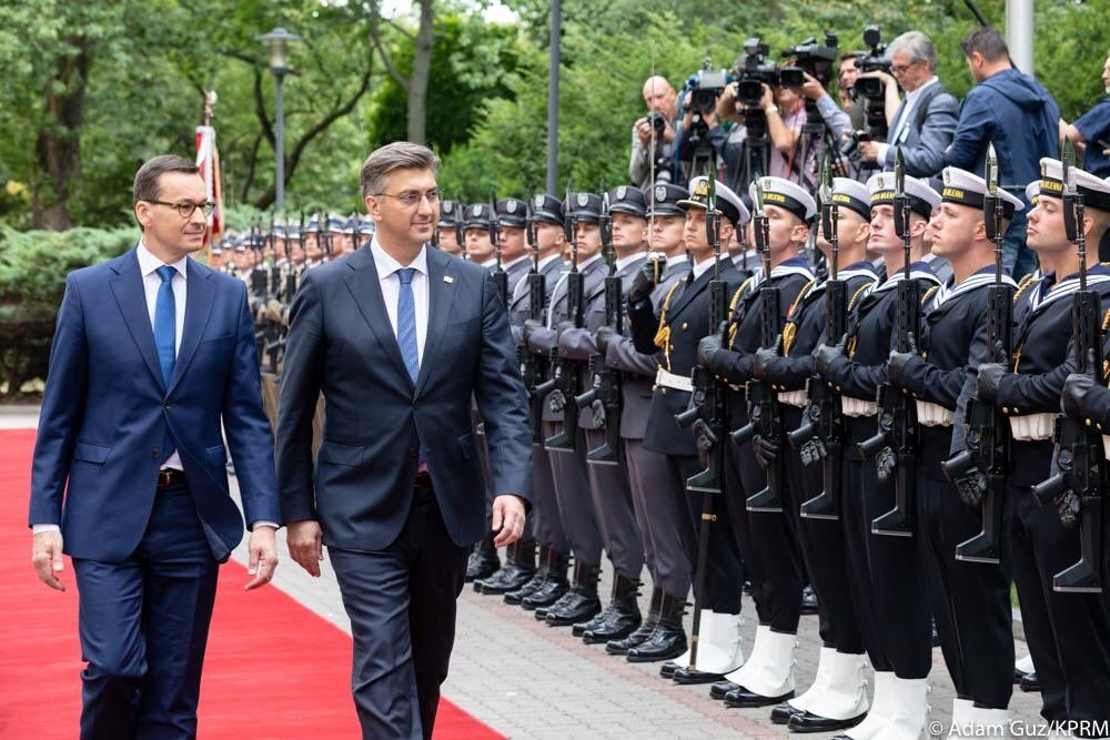Hrvatski premijer Plenković u posjetu Poljskoj