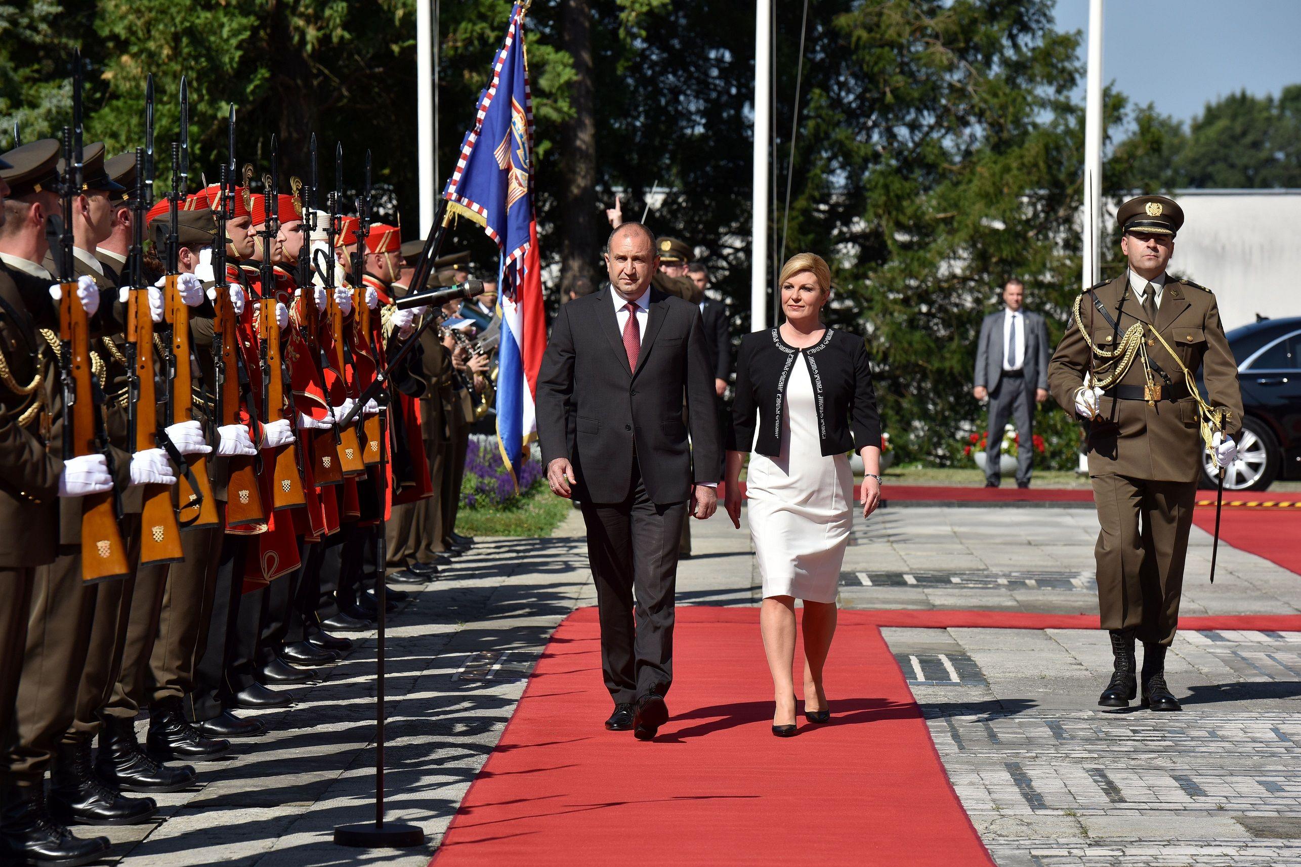 Saveznici u Europskoj uniji i NATO-u: Grabar-Kitarović i Radev za novu, stratešku dimenziju odnosa Hrvatske i Bugarske