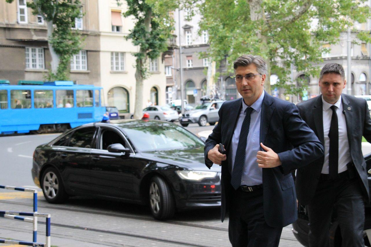 Plenković: Dobio sam potporu za ambicioznu rekonstrukciju Vlade